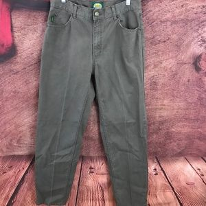 Cabela's  Brown Khaki Jeans Tag 33x34 Actual 31x33